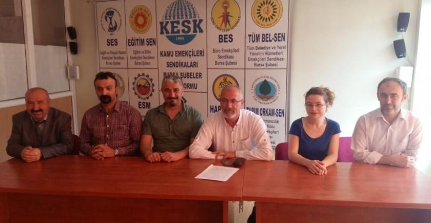 SES: Fiili hizmet süresi zammı için mücadele edeceğiz