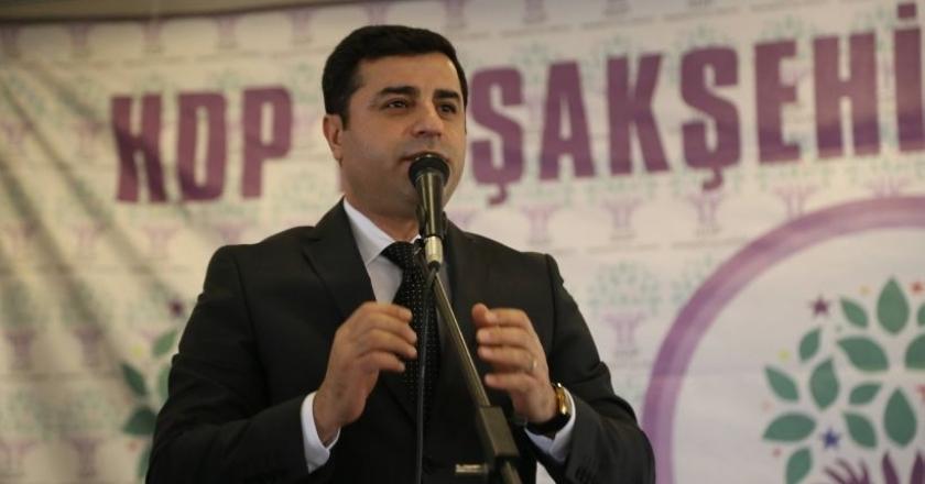 Demirtaş'tan Erdoğan'a: Kimi nereden kovuyorsun!
