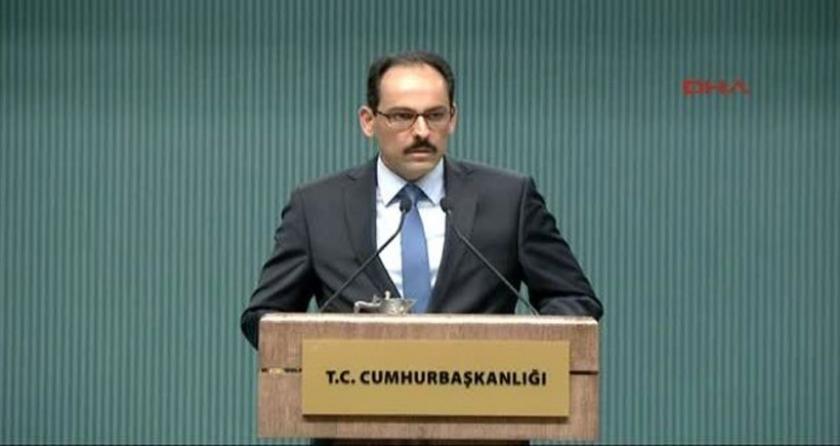 İbrahim Kalın: Cumhurbaşkanımızın 'Kobani düştü düşüyor' açıklamasına takla attırdılar