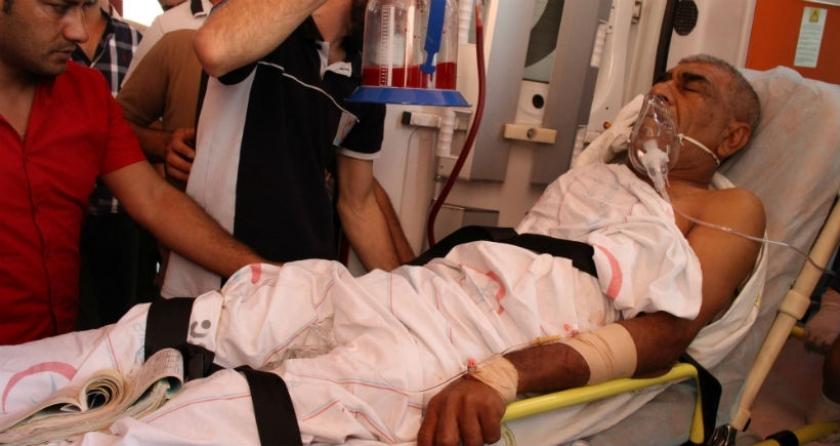 Cizre'de polis kurşunuyla yaralanan Eğitmiş Diyarbakır'a sevk edildi