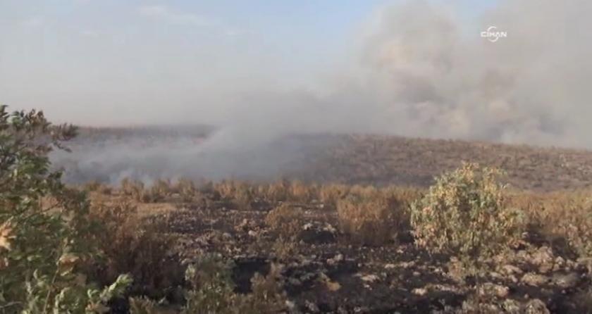 Bagok Dağı'nda ormanlık alanda çıkan yangın büyüyor