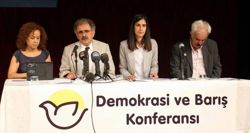 İstanbul'da barış ve demokrasi konferansı yapıldı:'Amasız, koşulsuz silahları susturun