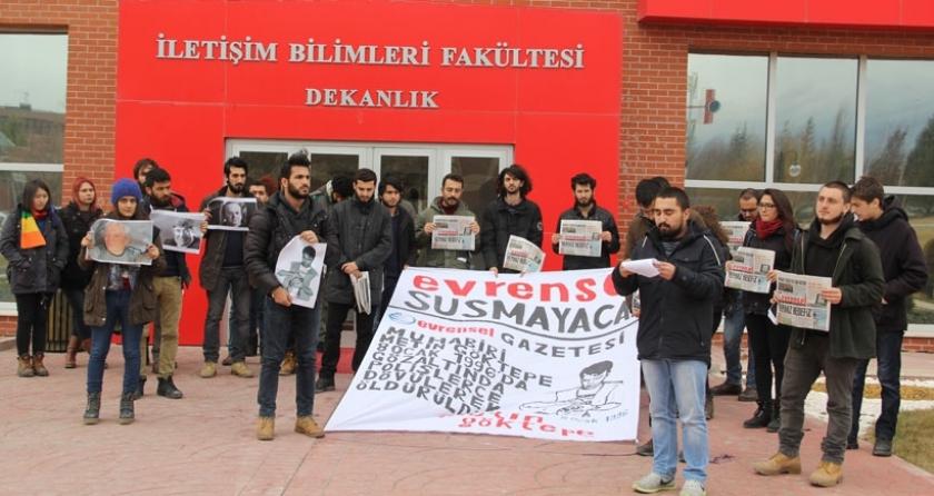Metin Göktepe Anadolu Üniversitesi'nde anıldı