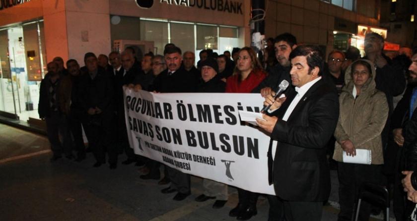 Adana PSAKD: çocuklar ölmesin, savaş son bulsun