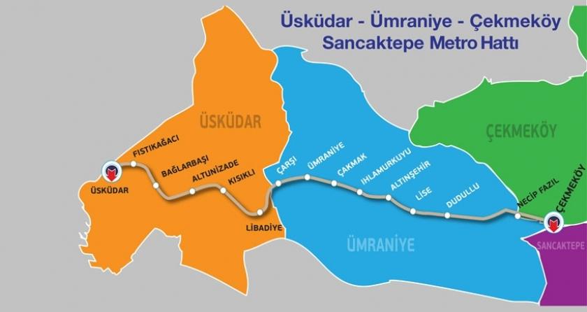 Anadolu yakasına 'sürücüsüz' metro