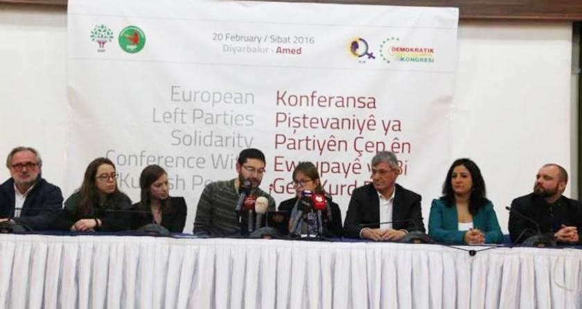 Avrupalı sol partilerden Kürt kentlerindeki katliamlara ve sivil ölümlere son verme çağrısı