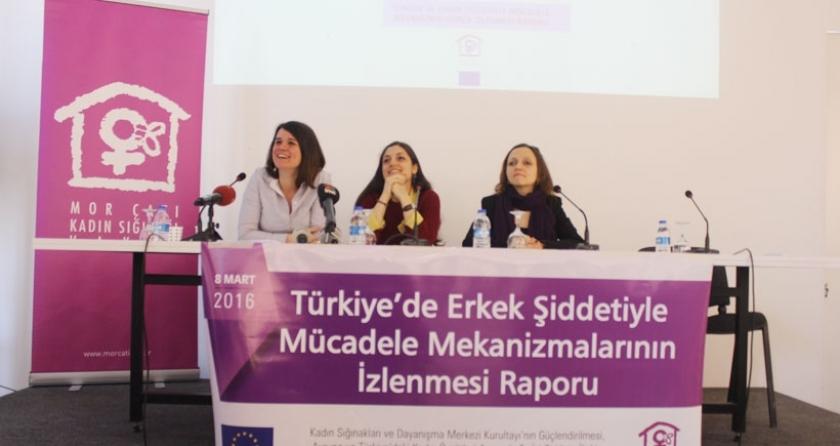 2015 yılında 695 kadın Mor Çatı'ya başvurdu