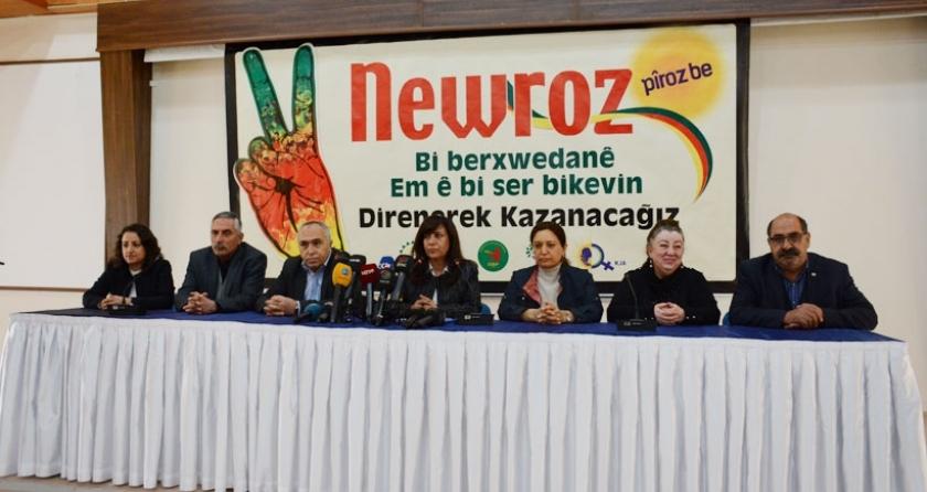 Diyarbakır büyük Newroz kutlamasına hazırlanıyor