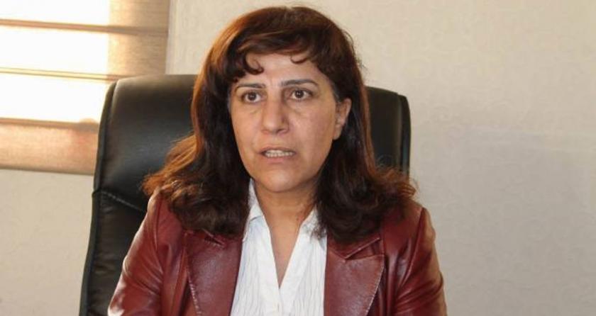 Diyarbakır Newroz komitesinden DBP İl Eşbaşkanı Hafize İpek tutuklandı