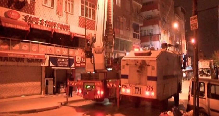 Polis Sultangazi'de Yürüyüş Dergisi'ne baskın düzenledi