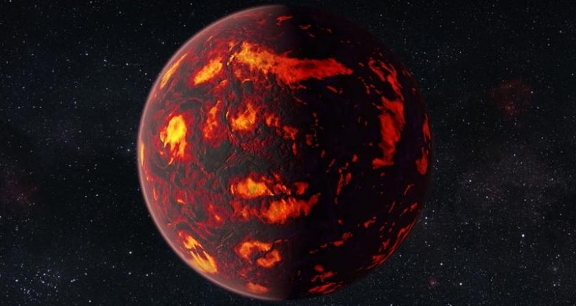 NASA, lavla kaplı gezegenin atmosferini inceledi