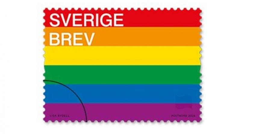 LGBTİ bayrağı İsveç'te posta pulu oluyor