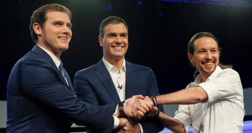 İspanya'da 'sol partiler' hükümet kurmak için buluştu