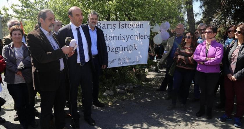 Ankara, Suruç ve Gezi aileleri  Özgürlük  Nöbeti'ndeydi