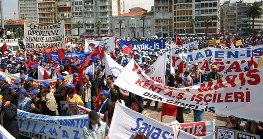 Topyekûn saldırıya karşı, 1 Mayısta birleşik mücadele: Alan tartışmalarıyla bölünmeden, talepler için birleşerek