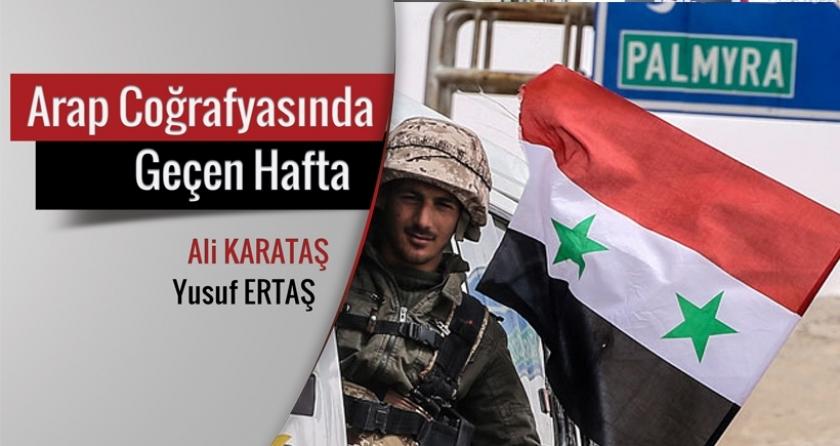 Palmira Esad için zafer IŞİD için darbe