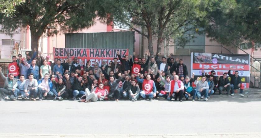Dostcam işçilerinin direnişi sürüyor: İnsanca çalışmak istiyoruz