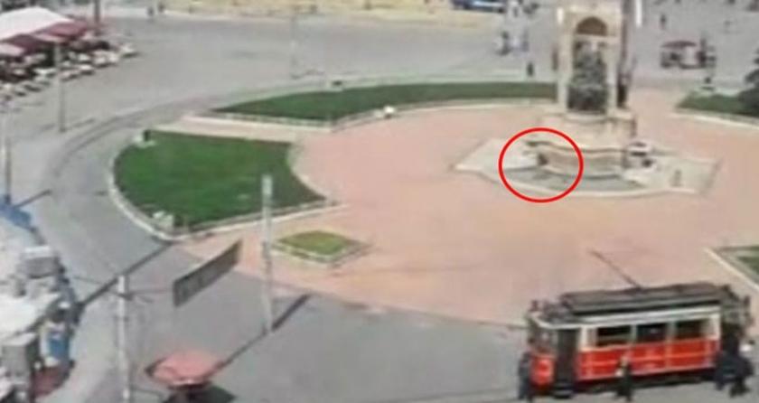 Taksim'de havaya ateş eden 1 kişi gözaltına alındı