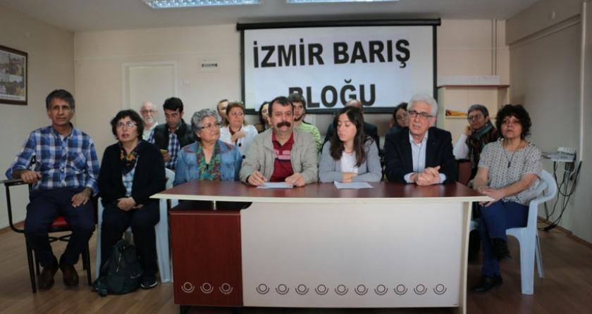 İzmir Barış Bloku: Tüm barış savunucularının yanındayız