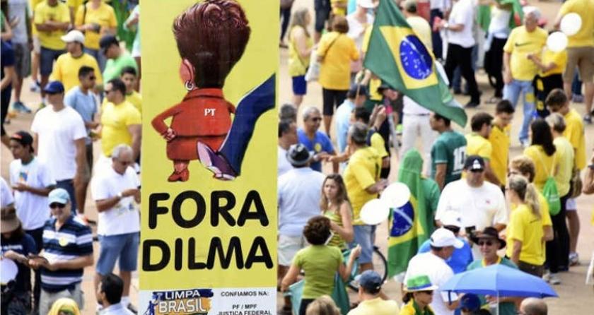Brezilya Devlet Başkanı Dilma Roussef: Yolsuzluk iddiaları darbe amaçlı