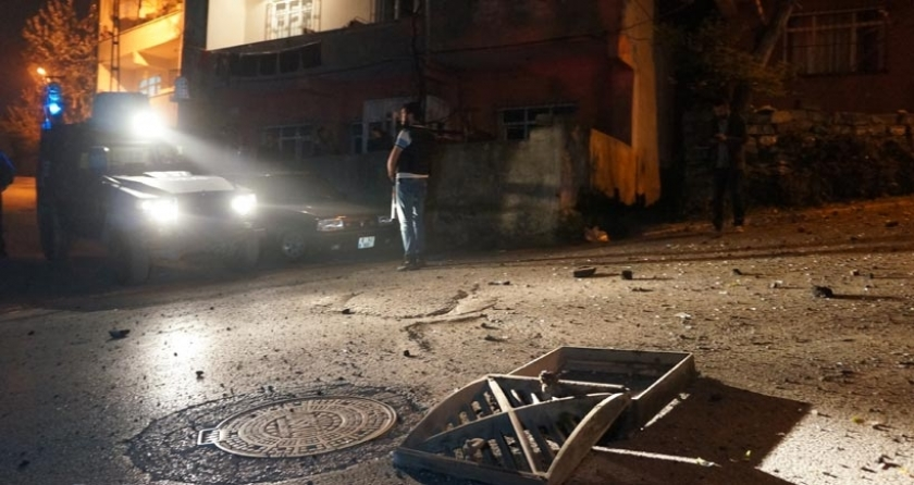 İstanbul Alibeyköy'de korkutan patlama