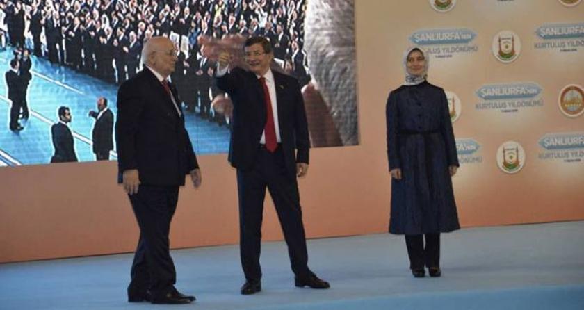 Davutoğlu, Şam hayalini Urfa'da tekrarladı