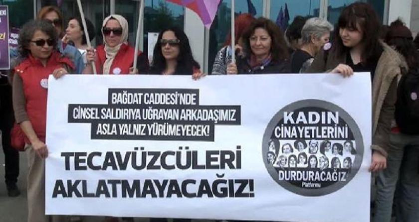 Bağdat Caddesi'ndeki tecavüz davasına başlandı: Bakanlık mağdur  değil, sanık olmalı