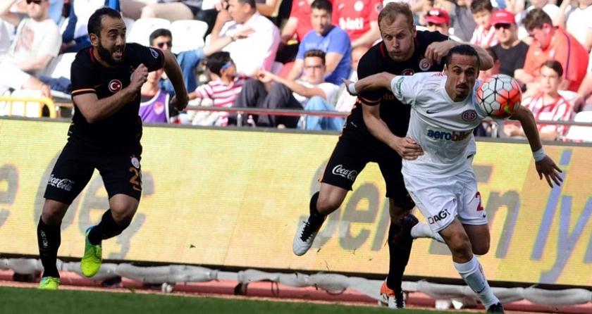 Antalya, Galatasaray'ı 4-2 ile uğurladı