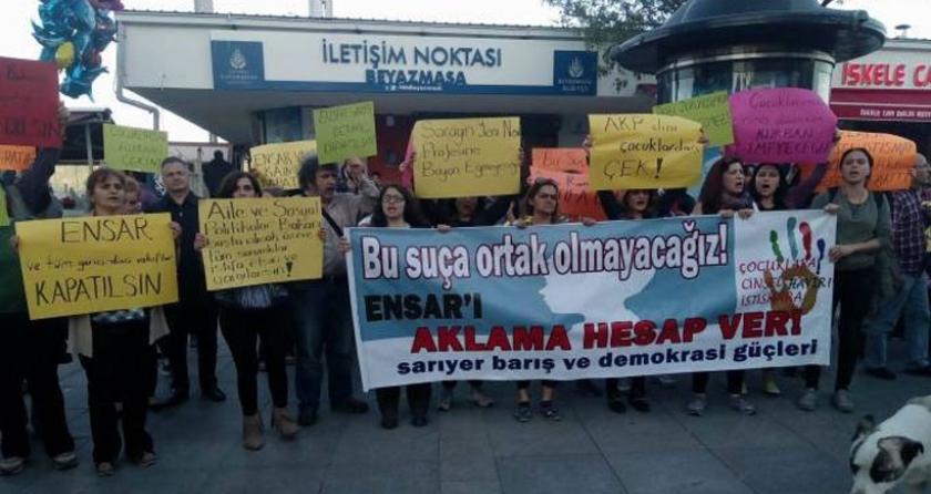 Sarıyer halkı: Ensar'ı aklama hesap ver!