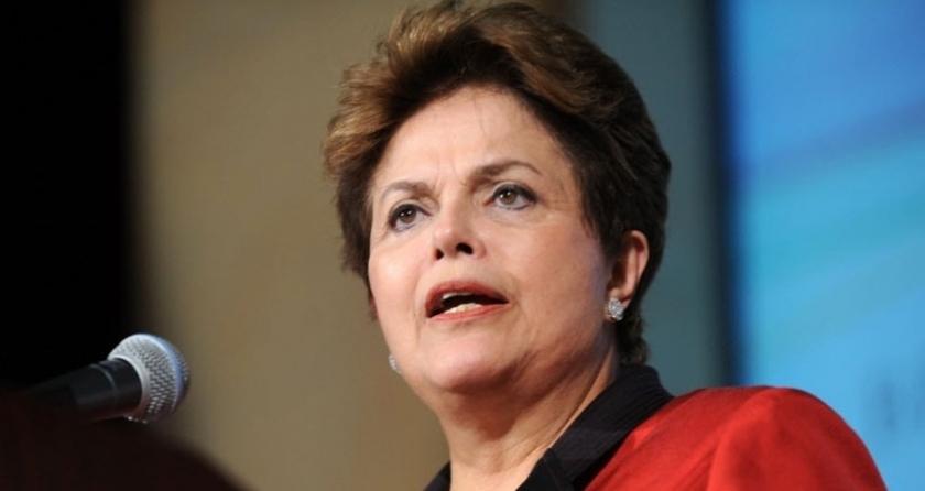 Brezilya Devlet Başkanı Dilma Rousseff azlin eşiğinde