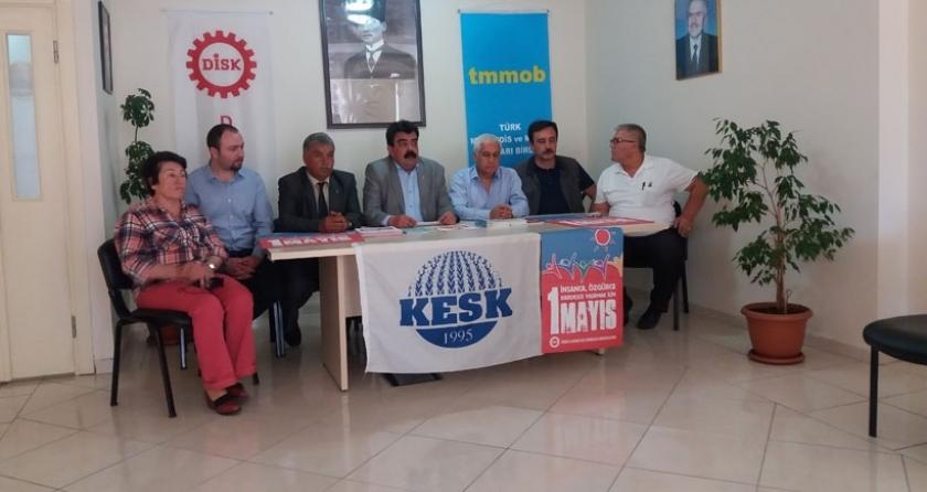 Antalya'da 1 Mayıs, Cumhuriyet Meydanında kutlanacak