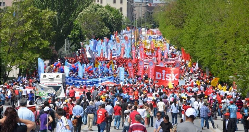 DİSK'e bağlı sendikalar: Taksim ısrarı sermayeye yarar