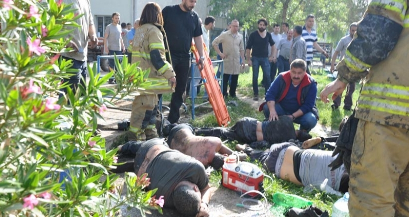 Torbalı'da 7 işçi metan gazından zehirlendi