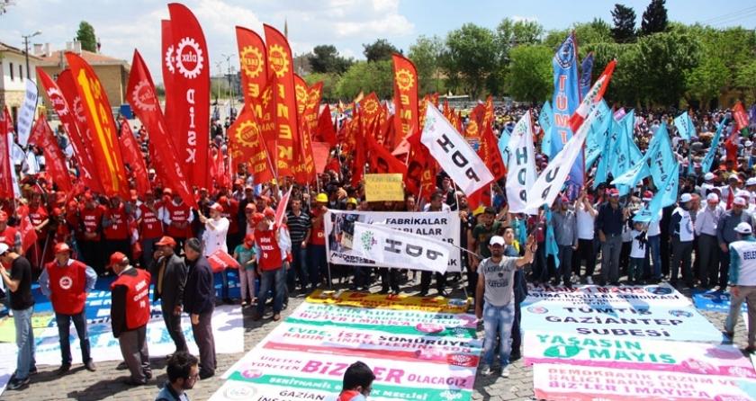 Antep'te 1 Mayıs İstasyon Meydanı'nda kutlanacak