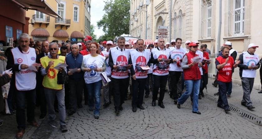 İzmir'de kitlesel 1 Mayıs çağrısı