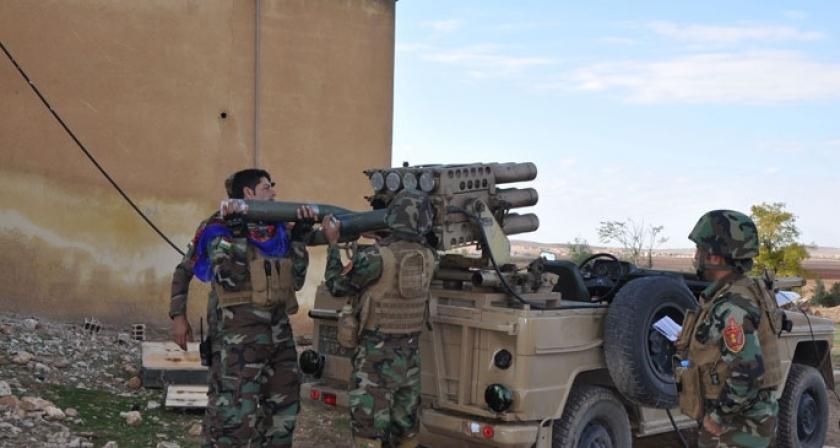 YPG, Burkan El Fırat ve Peşmerge'den ortak eylem