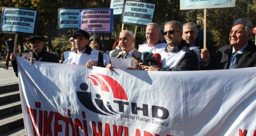 THD: Kaçak-kayıp bedeli soygundur