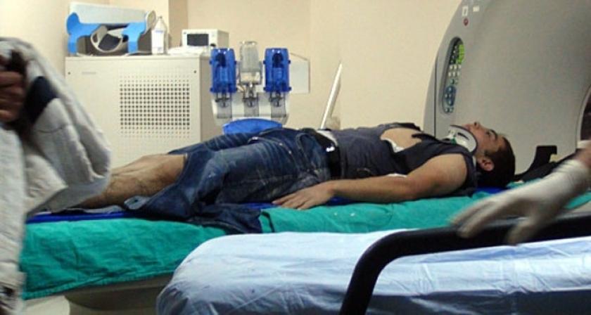 Yaralanan işçiler hastane hastane dolaştırıldı