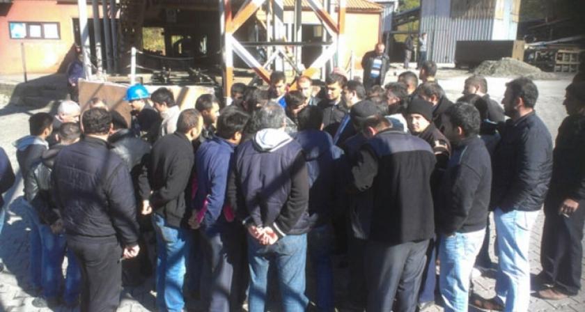 Hema Maden'de bin 200 işçi iş bıraktı