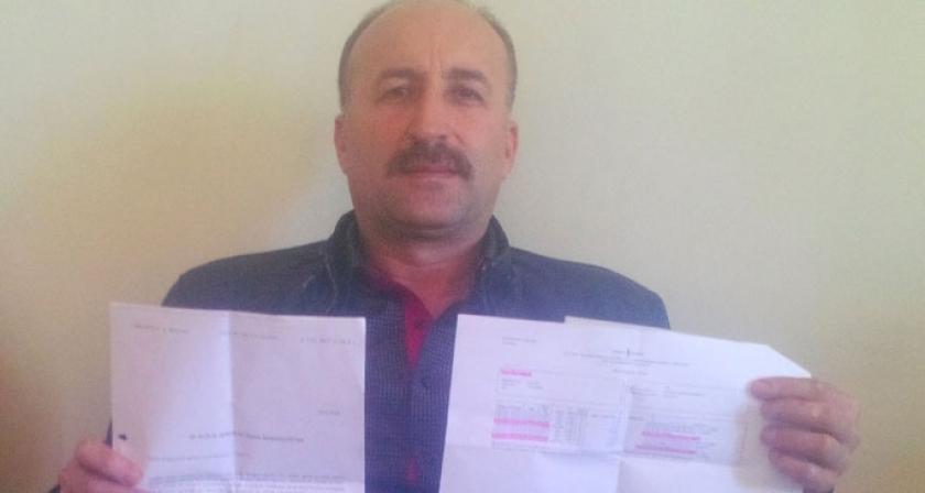 Al bin lirayı Mehmet  Başkan'ı devir