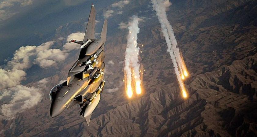 Koalisyon uçakları Til Ebyad'ı vurdu