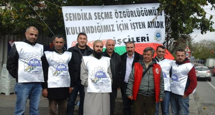 Ülker'de direnen işçilere...
