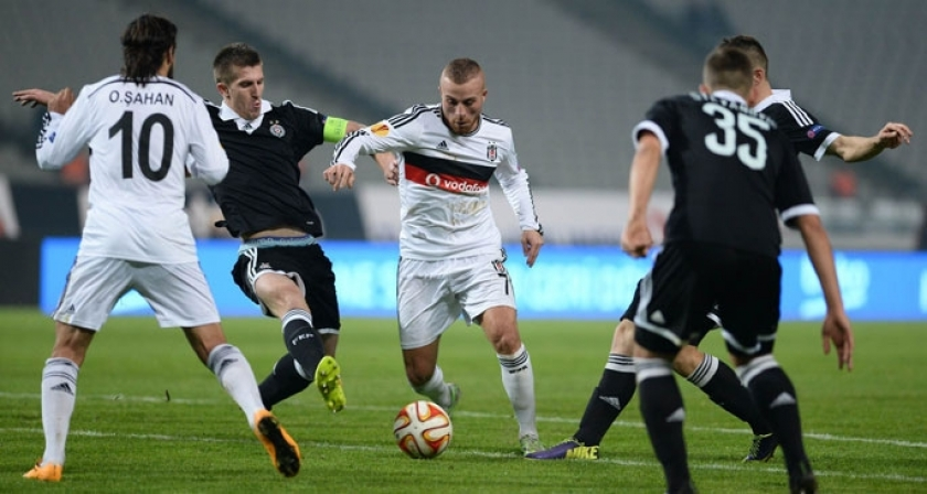 Beşiktaş Partizan'ı bu kez de  2-1 yendi