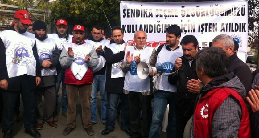 Direnen Ülker işçisi destek bekliyor