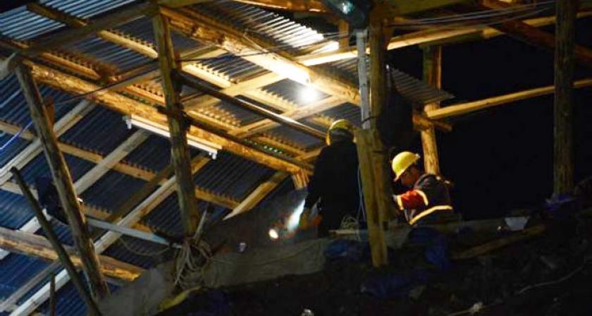 Maden faciasında 4'üncü gün