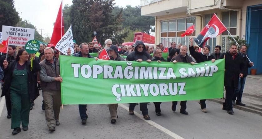 'Meralar köylünündür kiralanamaz'