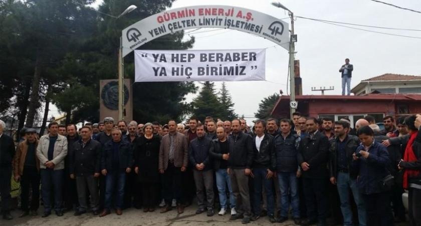 EMEP, Yeni Çeltek madencilerini ziyaret etti: Zarrab'ı koruyanlar işçileri hiçe sayıyor