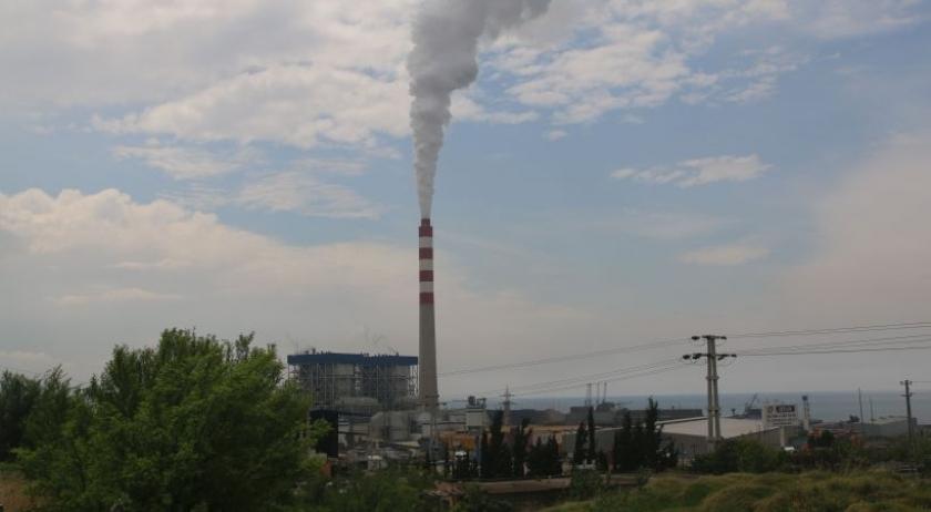 Amanos'tan tüten bulut kara dumana karışmasın diye