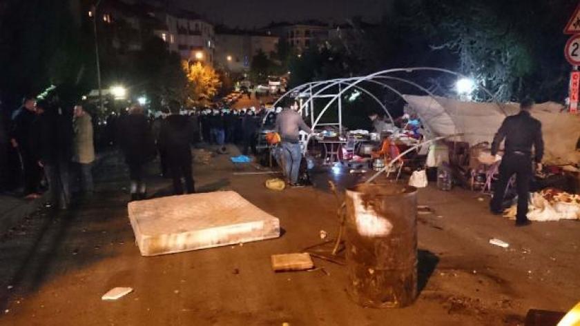 Validebağ'da kitleye polis saldırdı