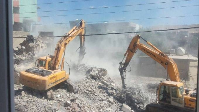 Mahkeme İdil'deki yıkıma yürütmeyi durdurma kararı verdi